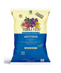 Грунт Terra Vita цветочный 10л.